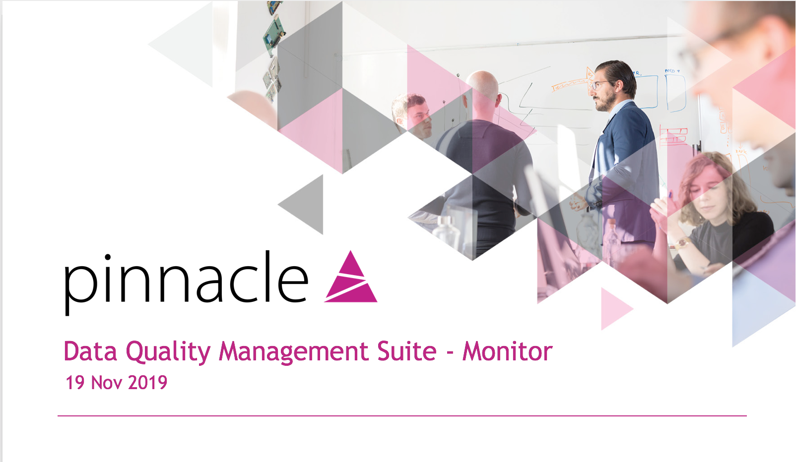Monitor Webinar Pinnacle Data Quality Management Tools