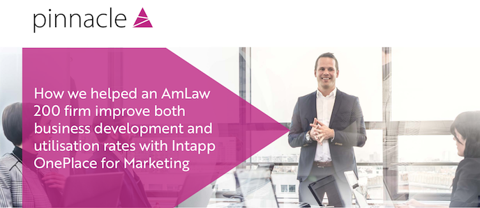 Pinnacle Intapp-OnePlace-for-Marketing-AmLaw-200-casestudy