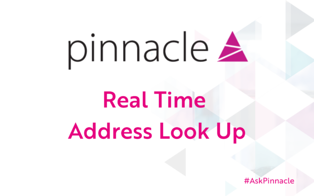 Pinnacle Real Time Address Look up