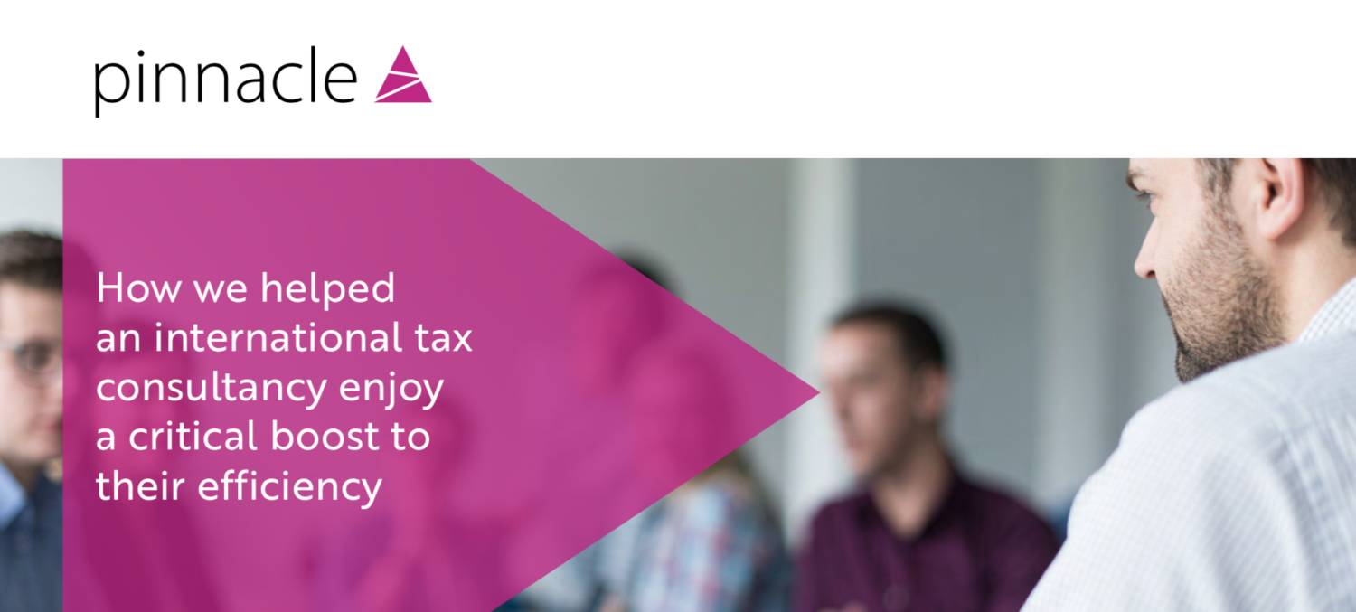Pinnacle case study tax consultacy