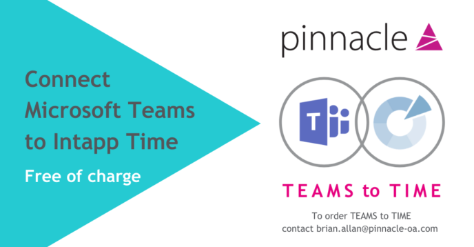 Microsoft Teams to Intapp Time Free Connector