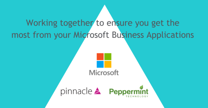 Peppermint Technology, Microsoft and Pinnacle logo
