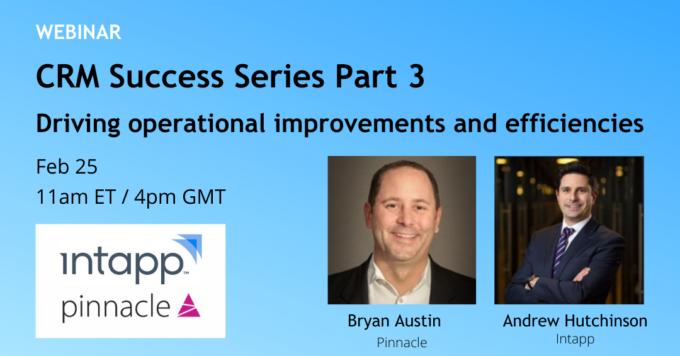 CRM Success Series Webinar part 3 invite